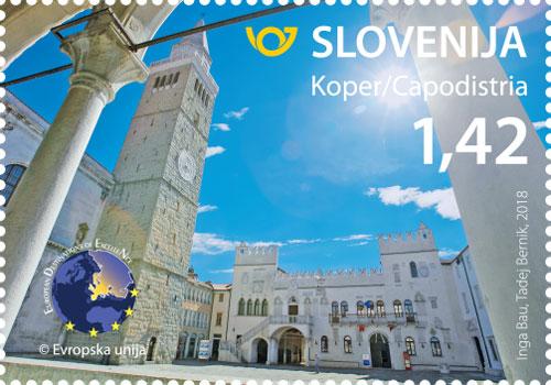 斯洛文尼亚3月23日发行旅游 - 科佩尔邮票
