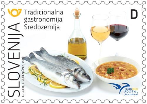 EUROMED POSTAL - Gastronomija Sredozemlja